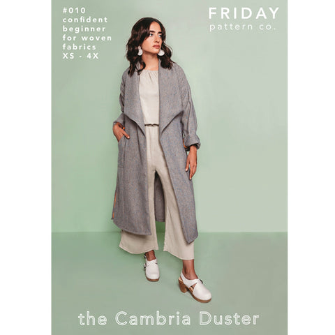 Friday Pattern Co. Cambria Duster Pattern (paper)