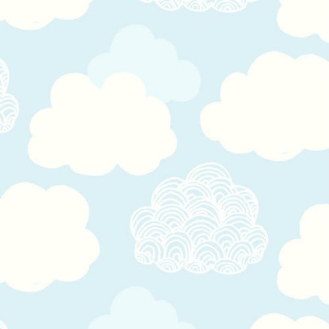 Cloudcover in Blue
