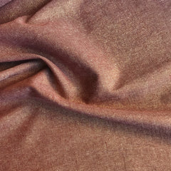 Essex Yarn Dyed Metallic (cotton / linen) in Copper Metallic