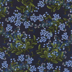Cornflower in Navy - Last Fat Quarter