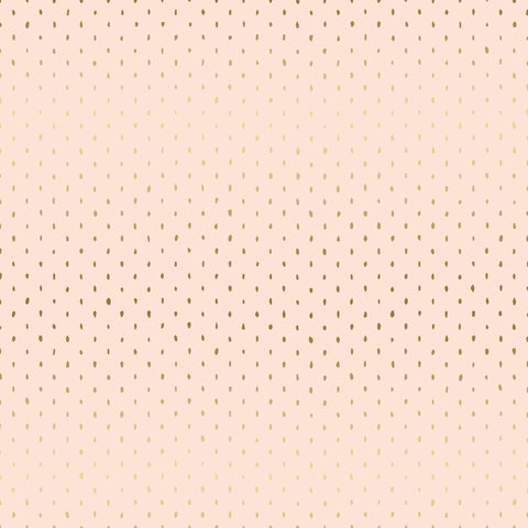 Stitch & Repeat in Blush Metallic