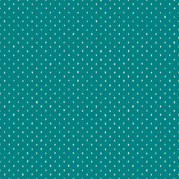 Stitch & Repeat in Teal