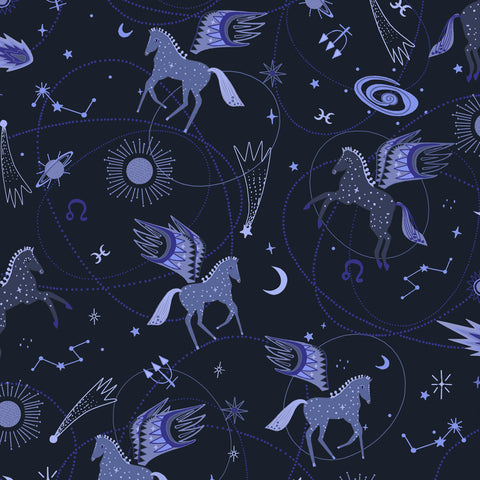 Astro Pegasus in Midnight Blue