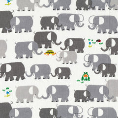 Elephants in Gray Organic