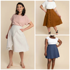 Closet Core Patterns - Fiore Skirt Pattern (paper)