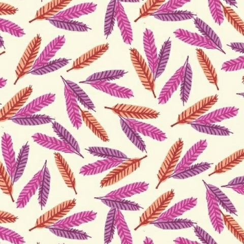 Feathers in Pink Organic