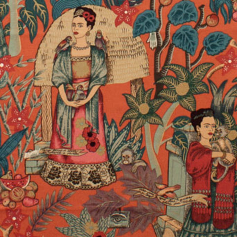 Frida's Garden in Terra Cotta