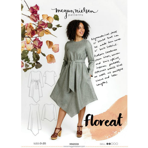 Megan Nielsen Patterns - Floreat Dress & Top Pattern (paper)