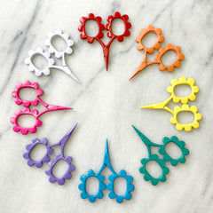 Flower Power Scissors (Various Colors)