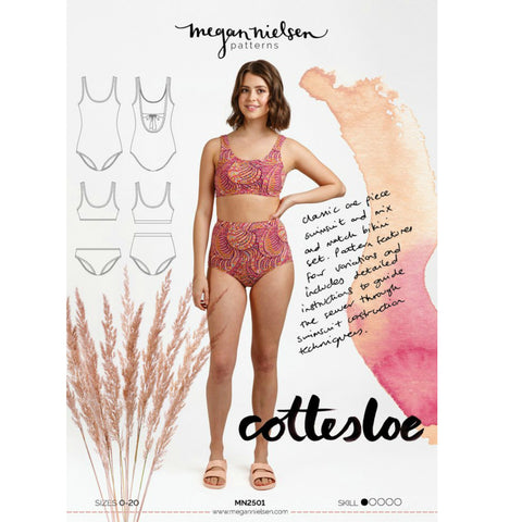 Megan Nielsen Patterns - Cottesloe Swimsuit Pattern (paper)