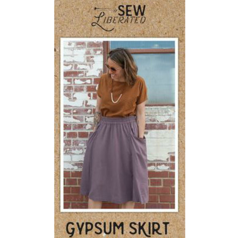 Sew Liberated Gypsum Skirt Pattern (paper)