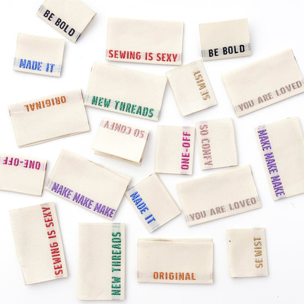 Woven Labels - Limited Edition 2021 Metallic Multi Pack (mixed pack of 10)