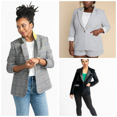 Closet Case Patterns - Jasika Blazer Pattern (paper)