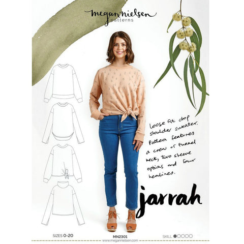 Megan Nielsen Patterns - Jarrah Sweater Pattern (paper)