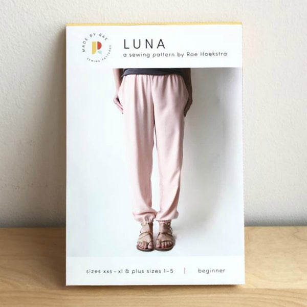 Made by Rae Luna Pants Pattern (printed paper)