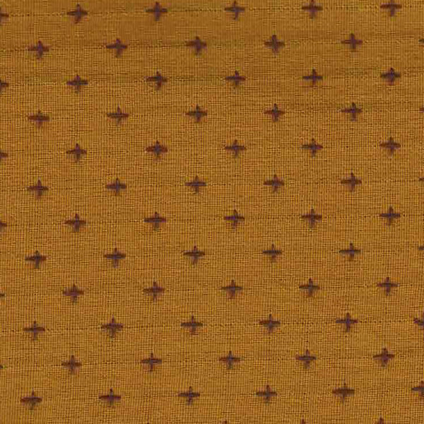 Manchester Embroidered Plus in Mustard / Grape
