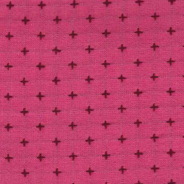 Manchester Embroidered Plus in Pink / Plum