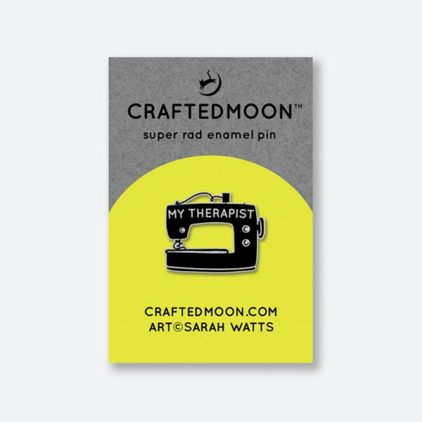 Crafted Moon - My Therapist Enamel Pin