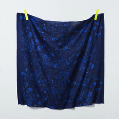 Jardin II DOUBLE GAUZE in Navy