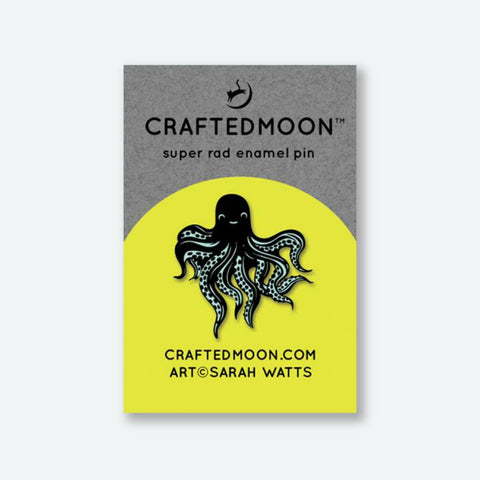 Crafted Moon - Octo Enamel Pin