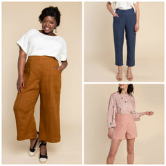 Closet Case Patterns - Pietra Pants & Shorts Pattern (paper)