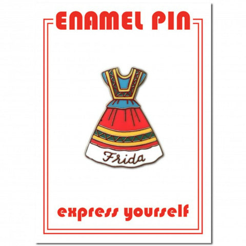 The Found - Frida Dress Enamel Pin