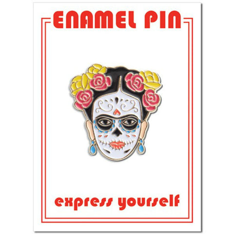 The Found - Frida Day of the Dead Enamel Pin