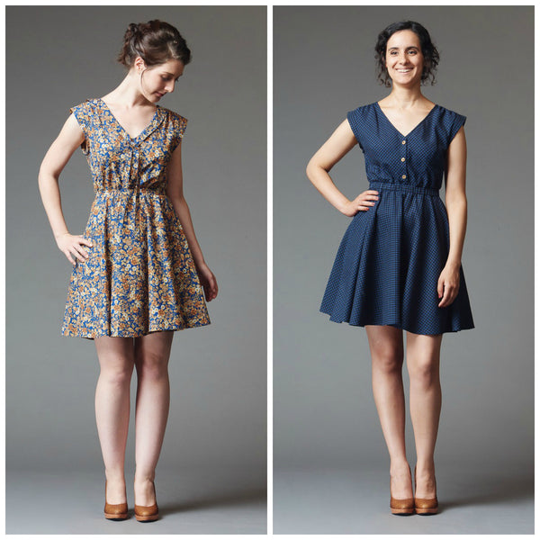 Deer & Doe - Reglisse Dress Sewing Pattern (Printed Paper)