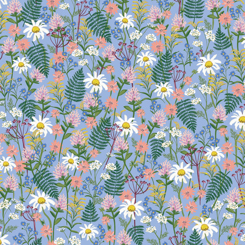 Wildflowers in Blue