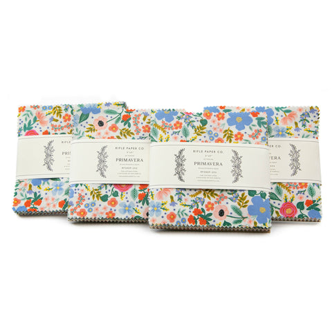 "Primavera Collection - 42 piece 5"" x 5"" Square Charm Pack"