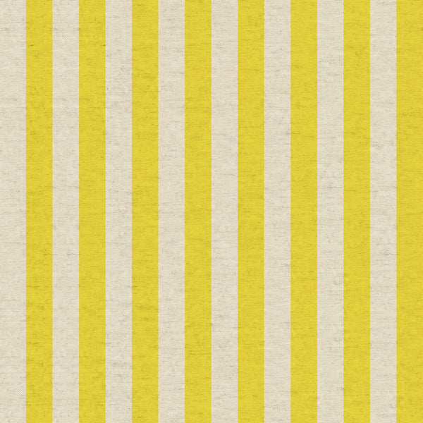 Cabana Stripe CANVAS in Yellow