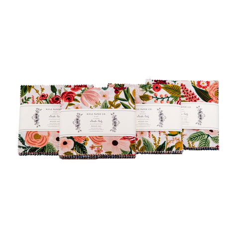 "Garden Party Collection - 42 piece 5"" x 5"" Square Charm Pack"