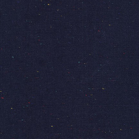 Essex Speckle (cotton / linen) in Navy