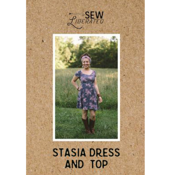 Sew Liberated Stasia Dress Pattern (paper)