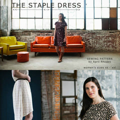 April Rhodes The Staple Dress Pattern (paper)