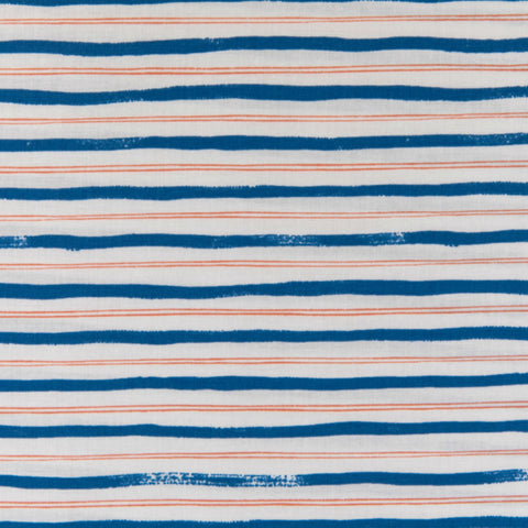 Stripes in Blue