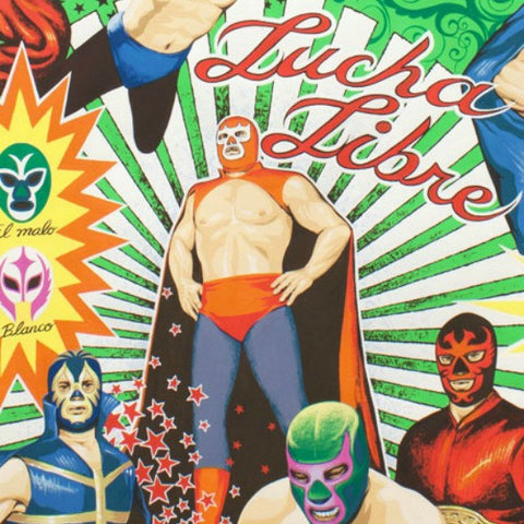 Super Lucha Libre in Natural