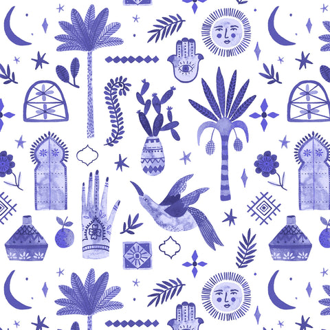 Moroccan Nights in Majestic Violet