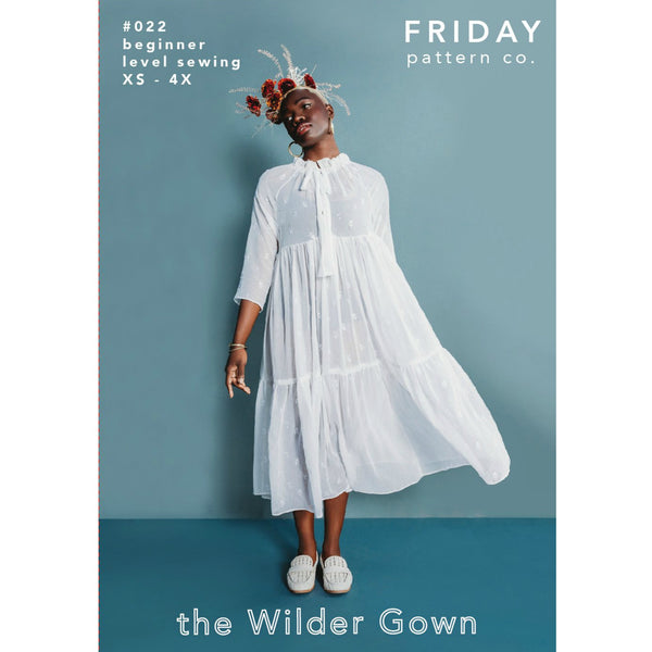 Friday Pattern Co. The Wilder Gown Pattern (paper)