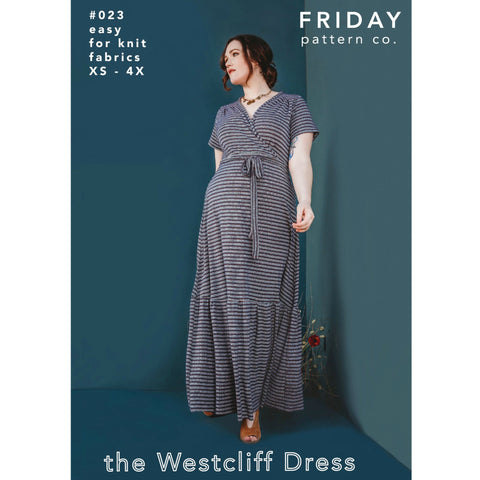 Friday Pattern Co. Westcliff Dress Pattern (paper)