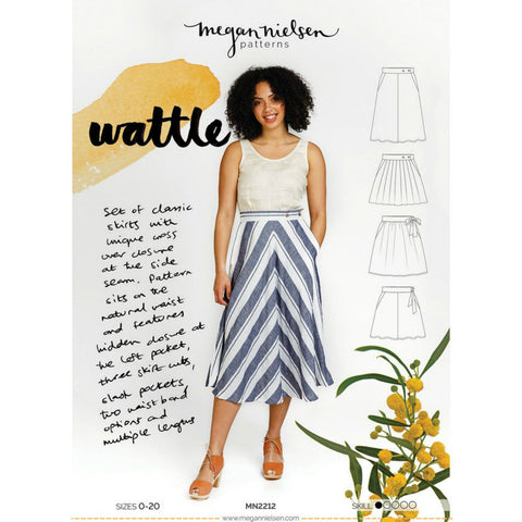 Megan Nielsen Patterns - Wattle Skirt Pattern (paper)