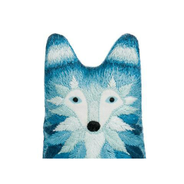 Kiriki Press Embroidery Kit - WOLF