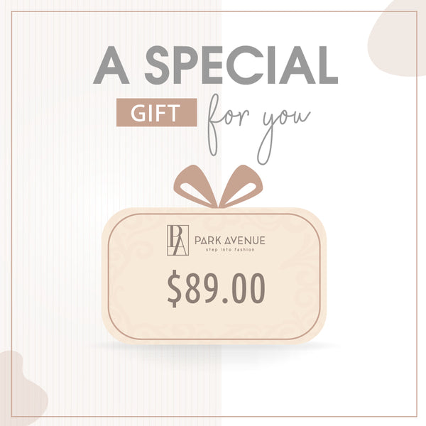 Gift Card $89.00