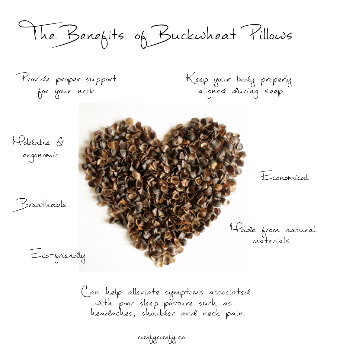 the benefits of buckwheat pillows