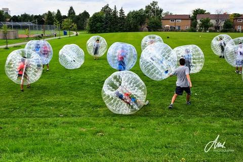 Around Toronto Special: Bubble Soccer