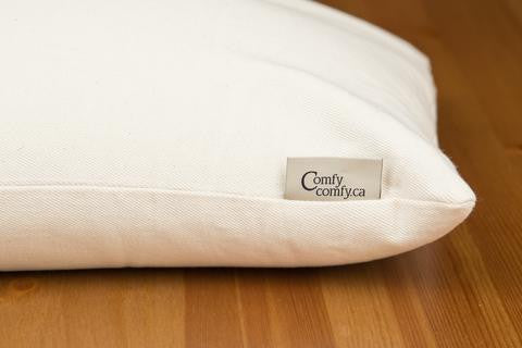 ComfyComfy Buckwheat Pillows Highly Ranked on Sleep Like the Dead