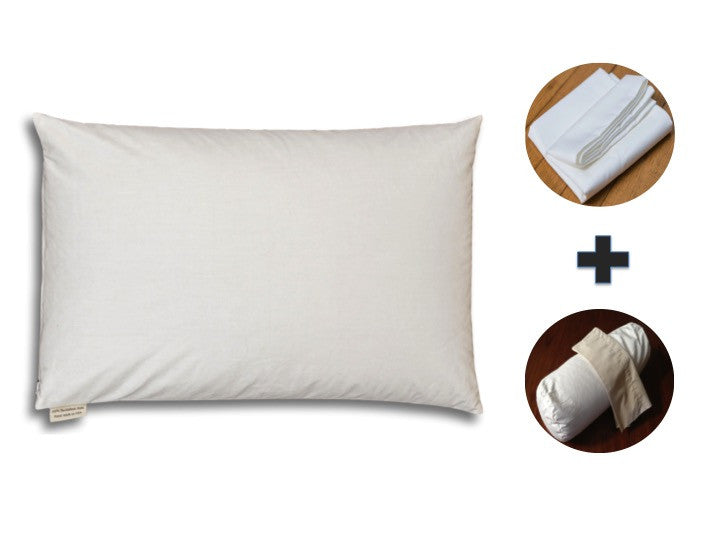 Introducing our Buckwheat Hull Pillow Package Deals!