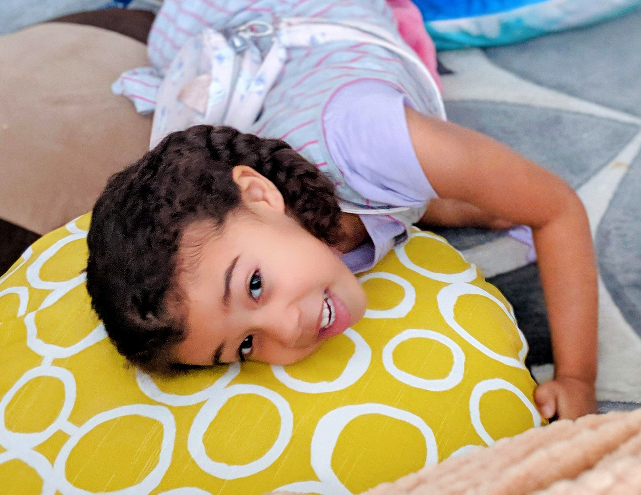 Our ComfyRound Large Zafu/Floor Cushions Are Featured in Maturing Mama