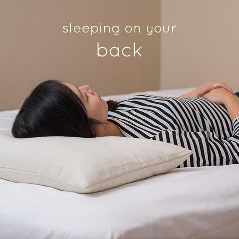 4 Tips for Sleeping on your Back