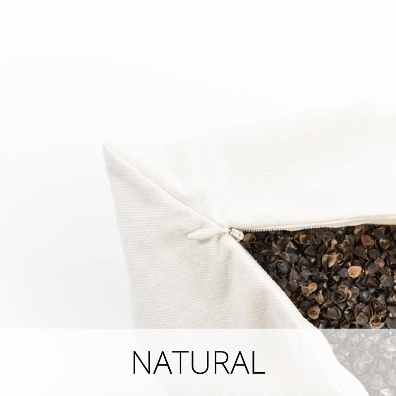 Comfycomfy Canada Handcrafted Organic Buckwheat Hull Pillows